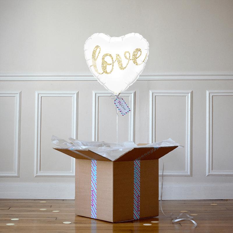 The pop case ballons surprise