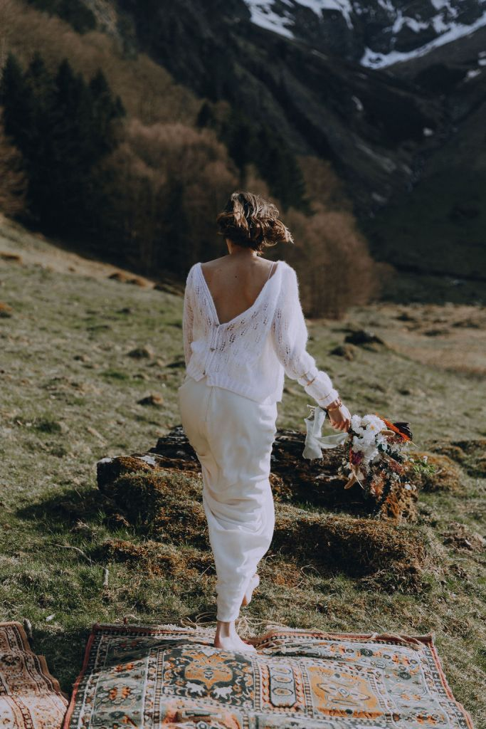 Robe de mariée pull