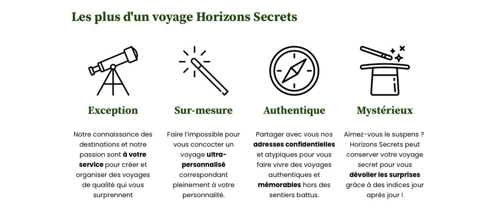 Horizons secrets