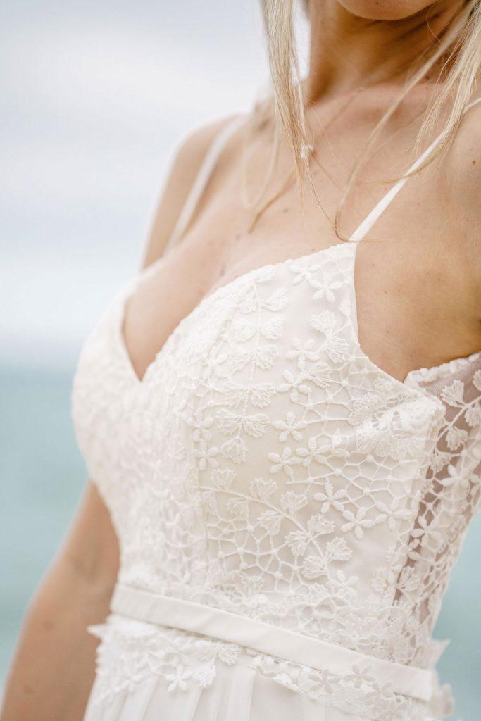 Robe de mariée robe de mariée fluide et bohème