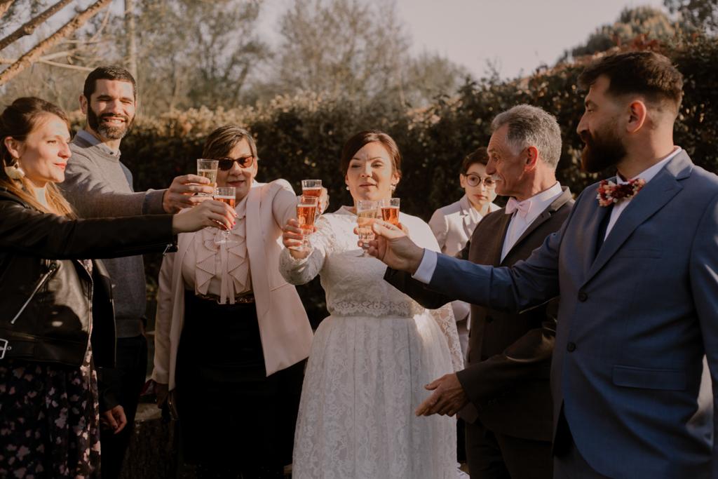 toast mariage
