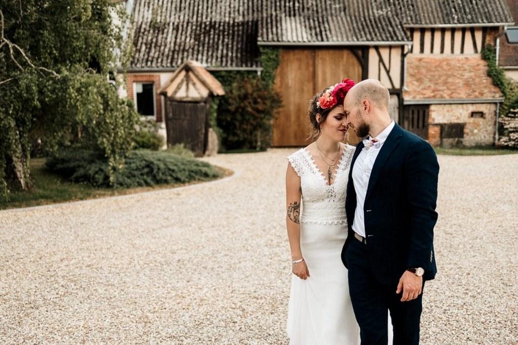 photos de mariage couple alternatif
