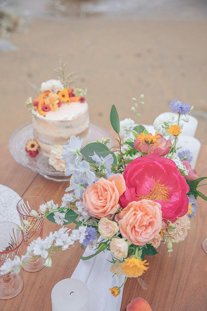 wedding cake exotique