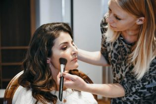 Maquillage de la mariée par Marie Guerlain