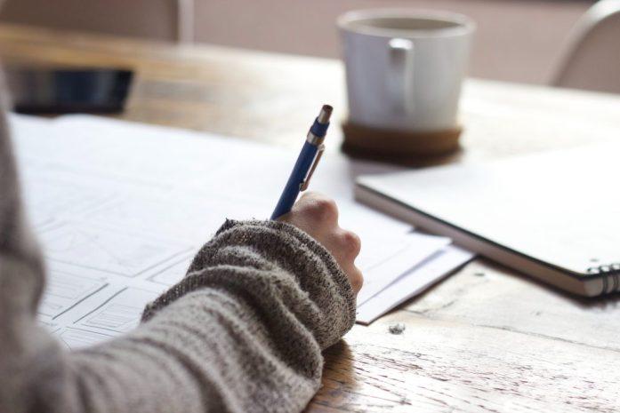 Travail d'écriture