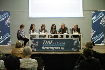 Petit debat a la jornada de la TIAF