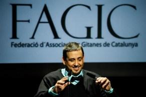 Simón Montero, president de la FAGiC, acomiadant l'acte. Judit Valdés
