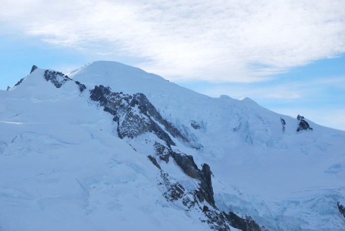Hiver à Chamonix Mont Blanc - le Mont Blanc