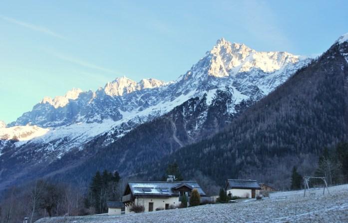 Hiver à Chamonix Mont Blanc - les Houches