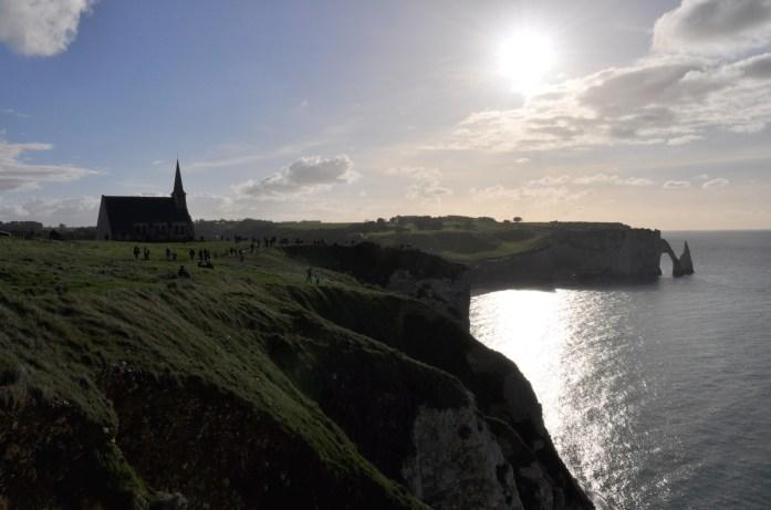 Une journée aux falaises d'Etretat - chapelle