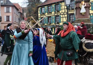 Le marché de Noël médiéval de Ribeauvillé - Danserie des Ribeaupierre