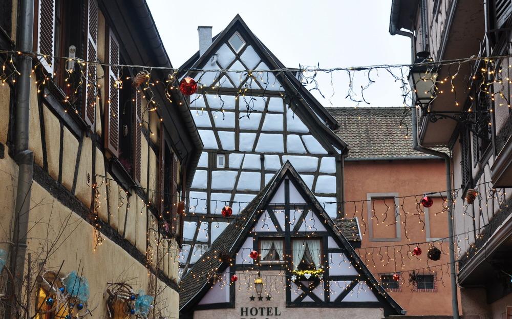Le marché de Noël médiéval de Ribeauvillé - décorations