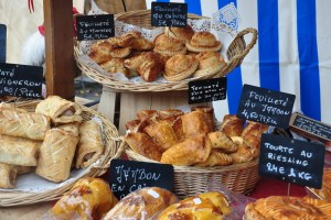 Le marché de Noël médiéval de Ribeauvillé - gastronomie alsacienne