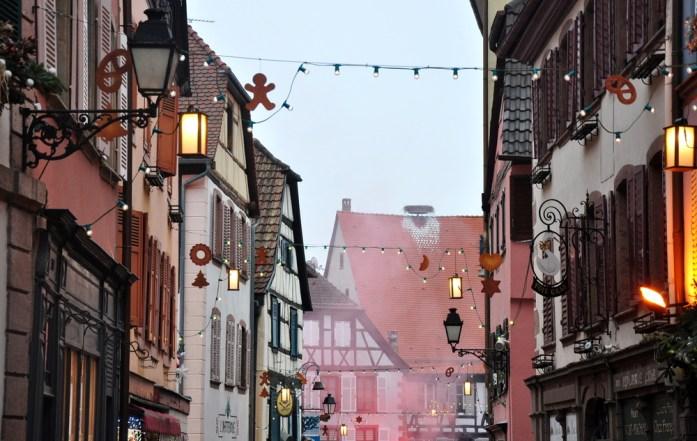 Le marché de Noël médiéval de Ribeauvillé - grand'rue