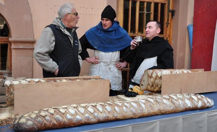 Le marché de Noël médiéval de Ribeauvillé - pain de campagne