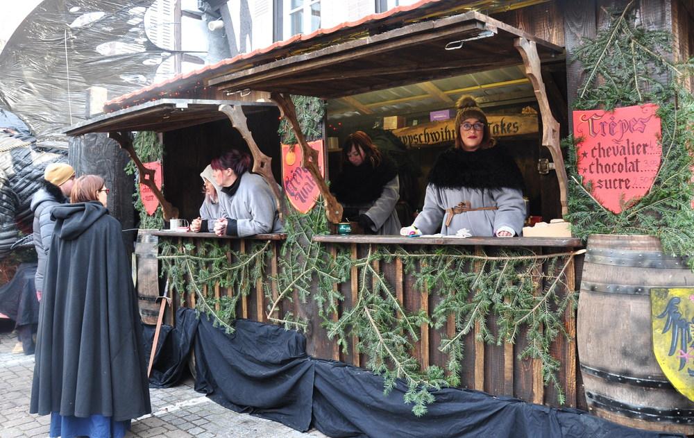 Le marché de Noël médiéval de Ribeauvillé - gastronomie médiévale