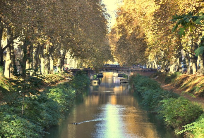 10 lieux moins connus à voir à Toulouse - canal de Brienne