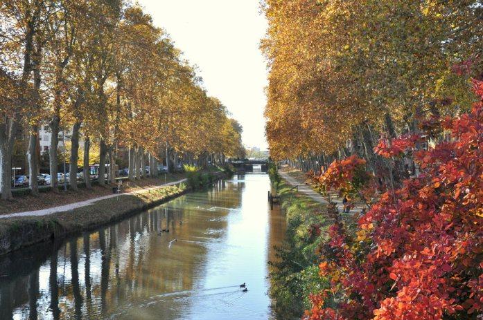 10 lieux moins connus à voir à Toulouse - canal du midi