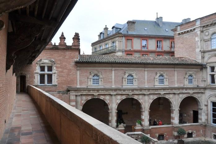 Toulouse - cour de la Fondation Bemberg