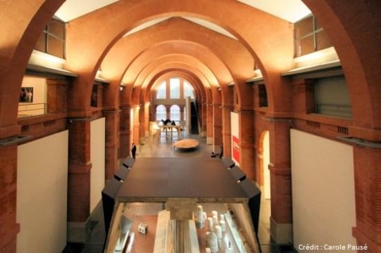 Toulouse - intérieur du musée des Abattoirs