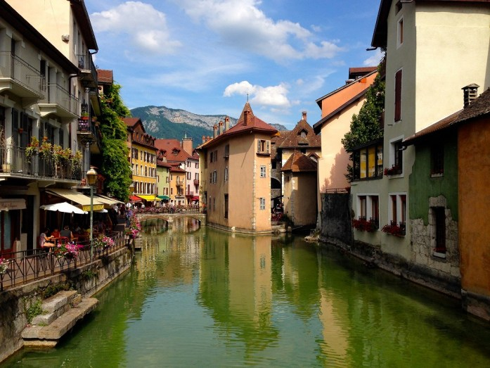 Annecy et ses canaux