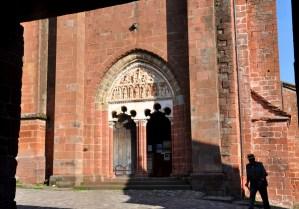 Collonges la Rouge - Tympan de l'église