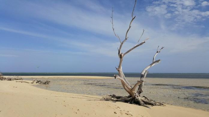 La plage la plus calme de l'îlot Maître