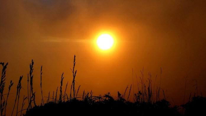 Coucher de soleil sur le Mont Dore