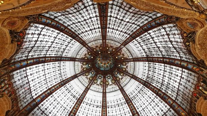 Paris - coupole des Galeries Lafayette