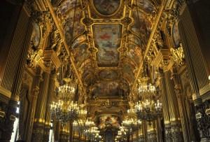 Paris - la salle d'apparat de l'opéra Garnier