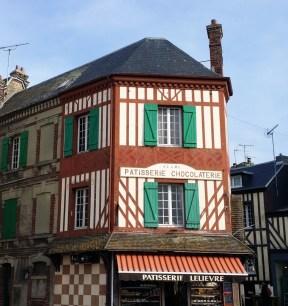 Deauville - Trouville : maison à colombages