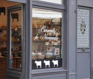 Honfleur - La boutique Caramels de Normandie