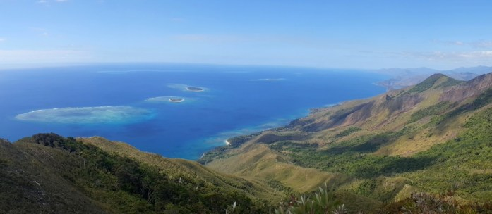 Nouvelle Calédonie - panorama des roches de la Ouaième