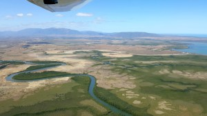Nouvelle Calédonie - survol de la mangrove