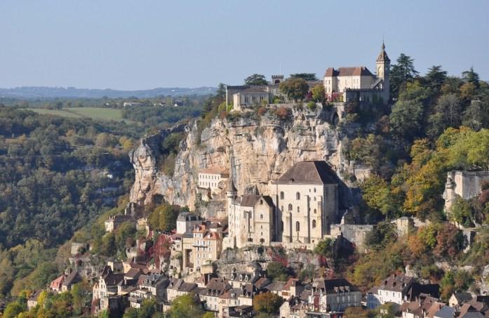 Vue panoramique sur Rocamadour