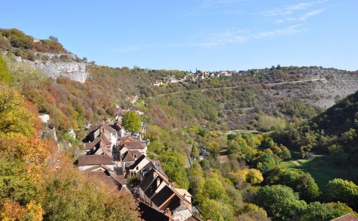 Rocamadour - vue depuis le château