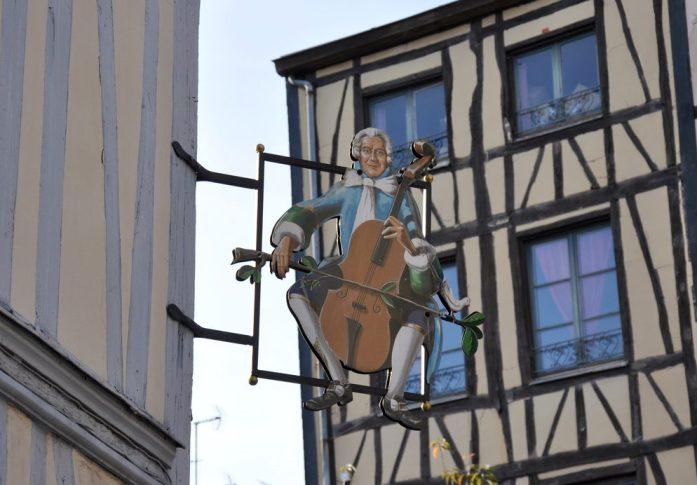 Un week-end à Rouen : enseigne du centre historique