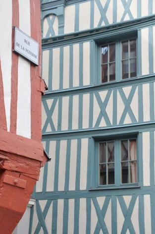 Un week-end à Rouen : colombages colorés
