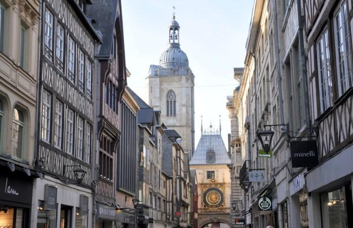 Un week-end à Rouen : rue du Gros-Horloge