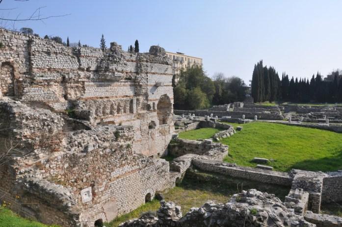 Visiter Nice en un week-end - le site archéologique de Cimiez