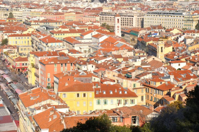 Visiter Nice en un week-end : vue sur le vieux Nice