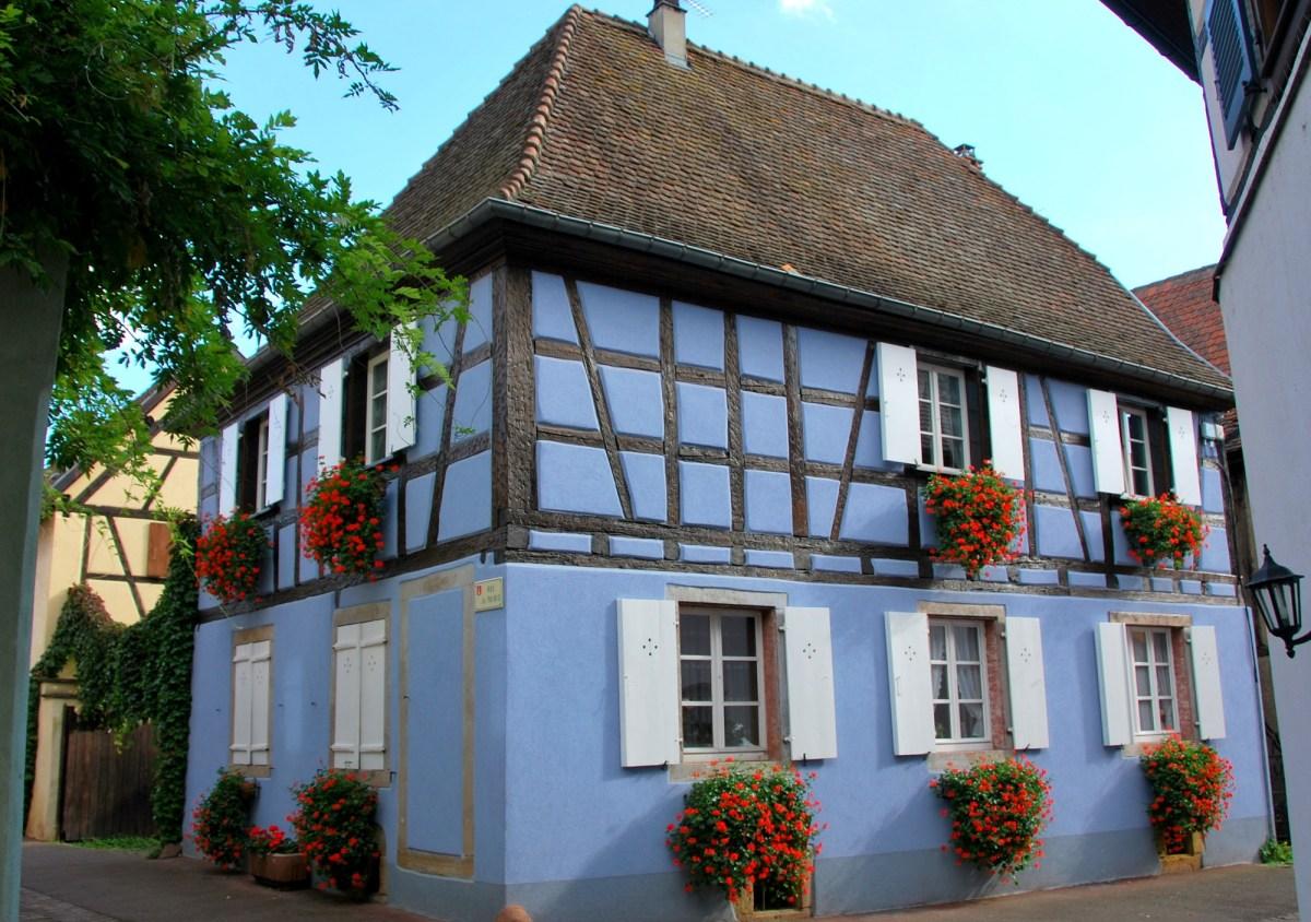 Découvrir Eguisheim en Alsace