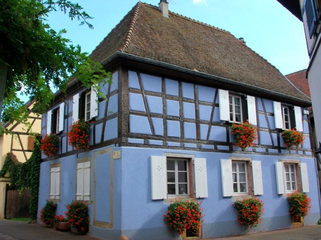 Découvrir Eguisheim en Alsace - La Marinière en Voyage