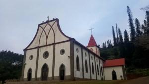 Les îles de Nouvelle Calédonie - église de Vao
