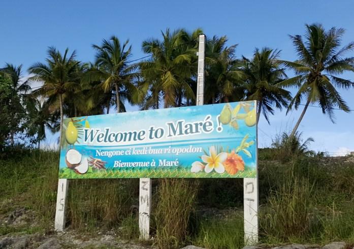 Île de Nouvelle Calédonie - bienvenue à Maré