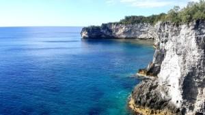 Îles de Nouvelle Calédonie - falaises de Maré