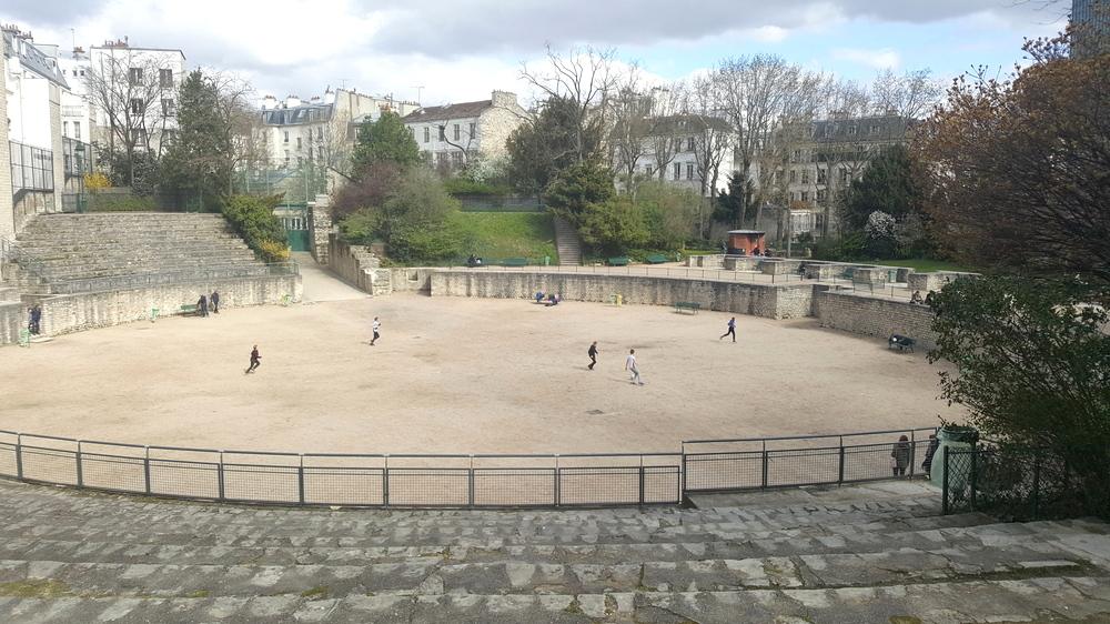 Paris en records - arènes de Lutèce