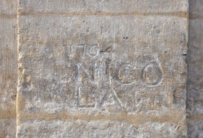 Paris en records - plus ancien graffiti