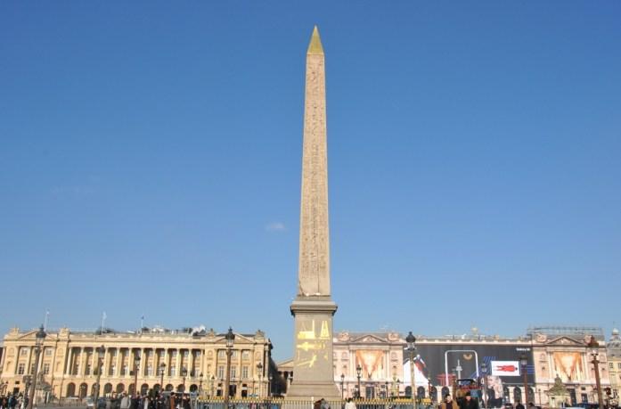 Paris en records - obélisque de la Concorde