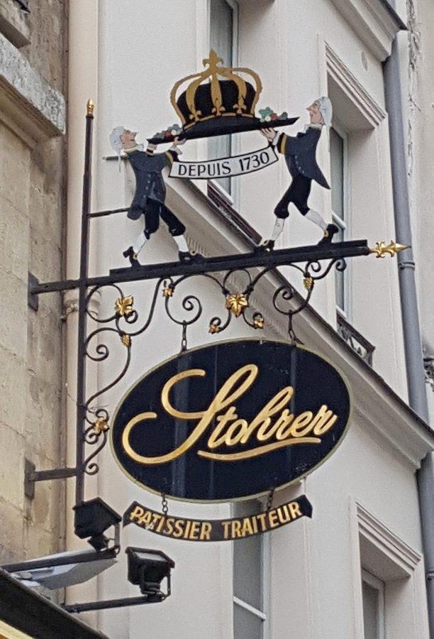 Paris en records - Pâtisserie Stohrer